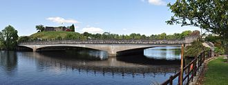 Belleek, County Fermanagh - Bridge connecting Northern Ireland to the Republic of Ireland