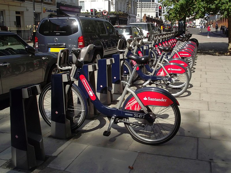 Belgrave Road, Victoria, London - Boris Bikes - Santander Cycles by Elliott Brown.jpg