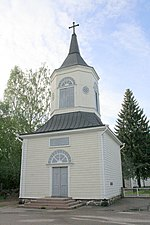Bell tower of Lapinjarvi in Finland.jpg