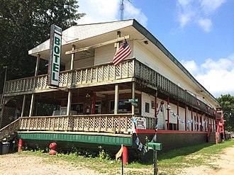 Botel - Image: Bellis Botel at Pickwick Landing, Hardin County, Tennessee