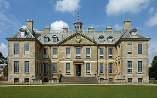 Country house in Belton near Grantham, Lincolnshire, England