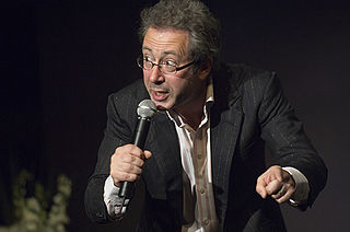 English comedian, author, playwright, actor and director