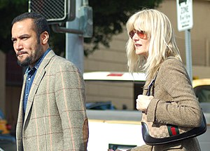 Laura Dern - Dern with then-husband Ben Harper in December 2009