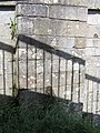Bench mark on Settle bridge - geograph.org.uk - 1379791.jpg