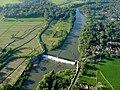 Bendungan di Sungai di Bantul - panoramio.jpg
