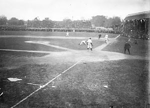 Bennett Park (Detroit) - Bennett Park during the 1907 World Series
