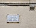 Bergamo Via Pignolo 80 home Torquato Tasso plaque.jpg