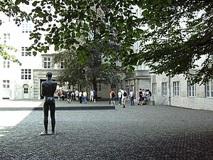 Bendlerblock - Courtyard where the July 20 conspirators were executed