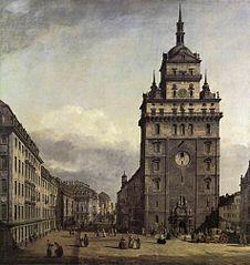 The Kreuzkirche in Dresden