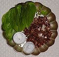 Betel leaf betel nuts and lime.jpg