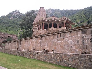 Bhangarh town in Rajasthan, India