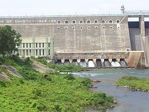 Bhavani River - Bhavanisagar dam