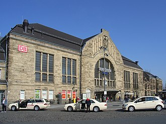 Bielefeld Hauptbahnhof - Image: Bielefeld Hauptbahnhof 2