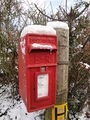 Bierley Newport Road post box snow.JPG