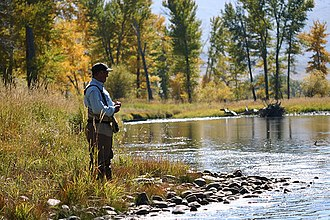 Big Hole River - Fly Fishing on the Big Hole River Fall of 2006
