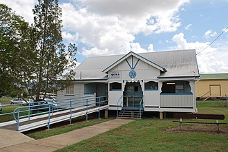 Queensland Country Women's Association - Image: Biggenden CWA Hall