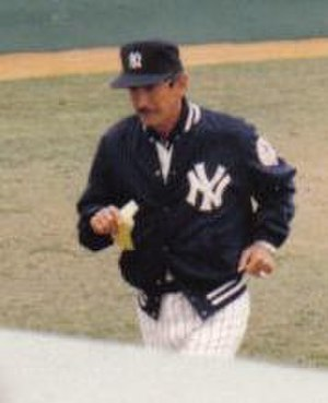 Billy Martin - Martin as Yankees Manager in 1983