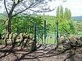 Birtin Cemetery Gates, Boggard Lane, Oughtibridge - geograph.org.uk - 1281957.jpg