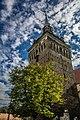 Biserica fortificată din Saschiz Turnul cu ceas 7.jpg