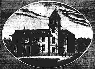 Bishop Scott Academy - The Bishop Scott Grammar School in 1874