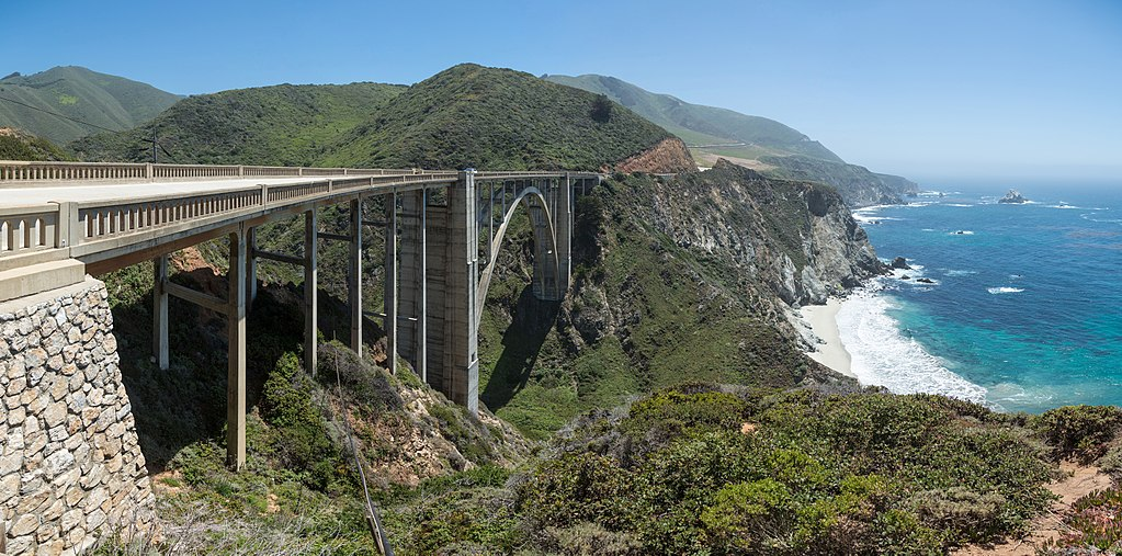 Bixby Creek Bridge, California, USA - May 2013