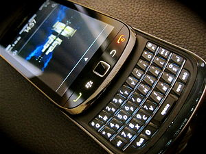 BlackBerry Torch - Image: Black Berry Torch