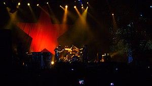 La banda actuando en el Voodoo Music Festival en New Orleans, el 26 de octubre de 2007.