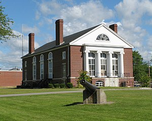 Walpole, Massachusetts - Blackburn Hall in Walpole was built by Harriet Nevins as a memorial to her parents