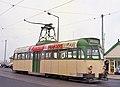 Blackpool tram 621 at Fleetwood terminus - geograph.org.uk - 1155547.jpg
