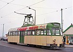 Blackpool tram 621 at Fleetwood terminus - geograph.org.uk - 1155547.jpg