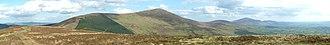 Blackstairs Mountains - Image: Blackstairs Mts pano 2010 03 02