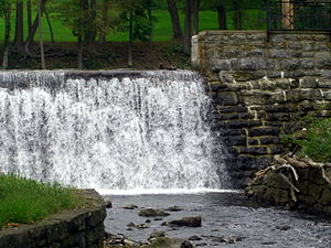 Blairstown, New Jersey - Blair Lake Spillway