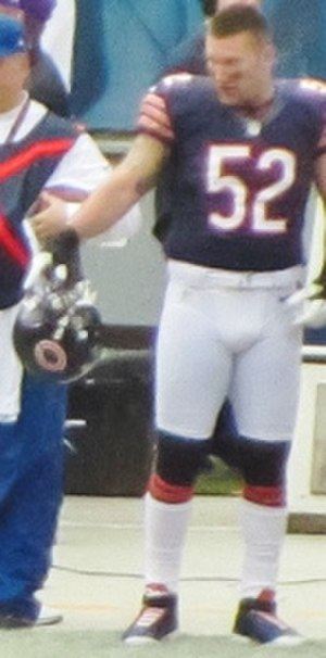 Blake Costanzo - Costanzo in 2012 during his tenure with the Bears