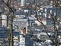 Blick durchs Teleobjektiv von der Weißenburg auf die Hospitalkirche (2012).jpg