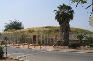 Tel Zeton Archaeological site in Israel