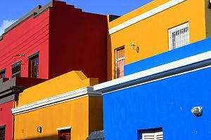 Bo-Kaap - Bo-Kaap primary colours