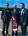 Bo Andersson and Nicklas Lidström meet with King Carl XVI Gustaf of Sweden.jpg