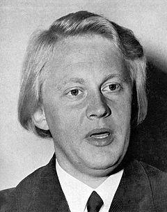 Bo Setterlind omkring 1960.