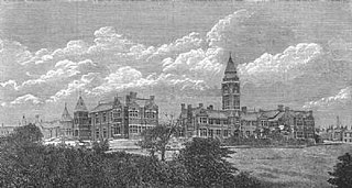 Bolton Royal Infirmary Hospital in Greater Manchester, England
