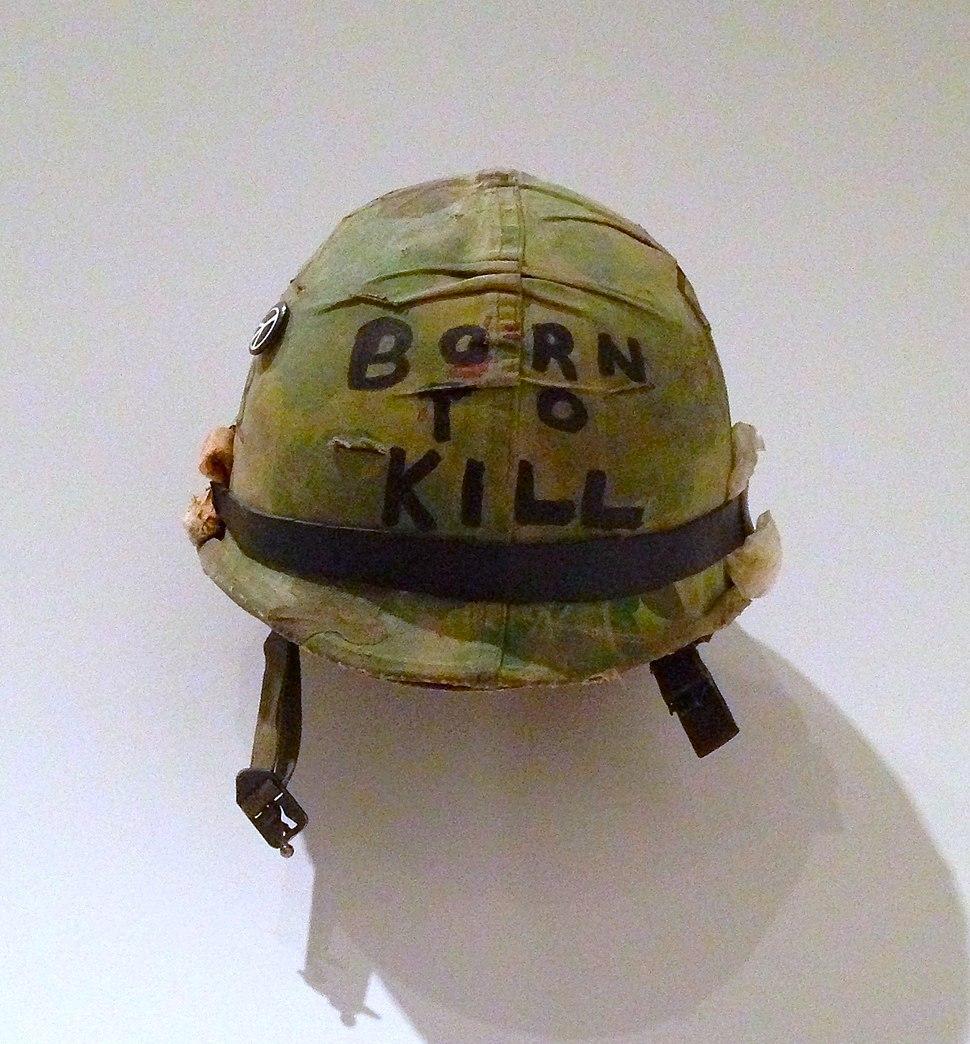 Born to Kill helmet