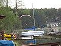 Borsk, mtolotnią nad brzegiem jeziora Wdzydze.jpg