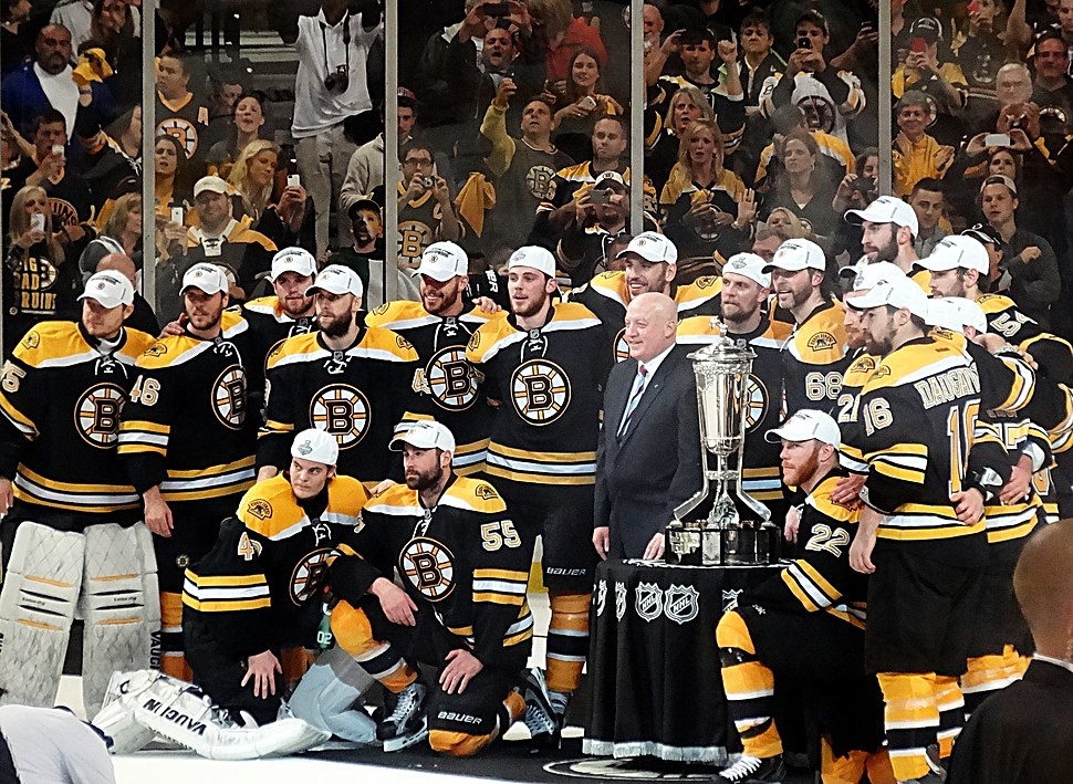 Boston Bruins Prince of Wales Trophy 2013-06-07