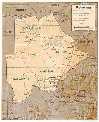 History of Botswana - Modern Botswana. The country's borders have been stable since independence in 1966
