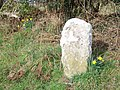 Boundary stone near Lytchett Matravers - geograph.org.uk - 1692285.jpg