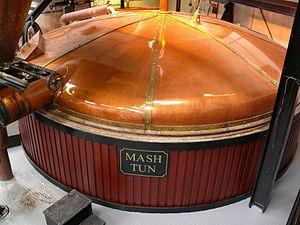 Bowmore distillery mash tun