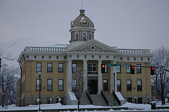 Box Elder County, Utah - Image: Box Elder County Courthouse