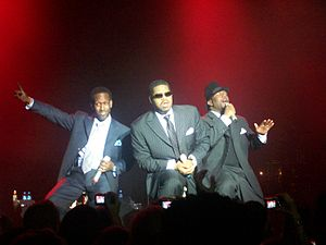 Boyz II Men - Boyz II Men Live at Vegas in 2008.