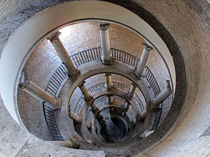 Bramante Staircase - The original Bramante staircase