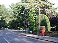 Branksome, postbox No. BH12 240, Brunstead Road - geograph.org.uk - 972206.jpg
