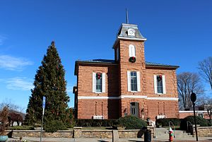 Transylvania County, North Carolina - Image: Brevard, North Carolina Transylvania Co. Courthouse